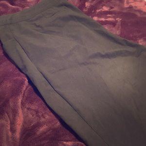Lane Bryant SHORT black work dress pants 24